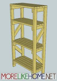 simple garage wood shelf plans wooden furniture plans