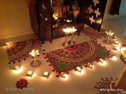 Diwali Decorations In Home Puja Room Design Home Mandir Lamps Doors Vastu Idols