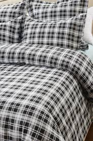 Cherry Duvet Cover 6pc Black And White Plaid Bedding Set Includes Comforter And Duvet