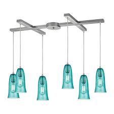 Aqua Pendant Light Aqua Glass Pendant Light Panels World