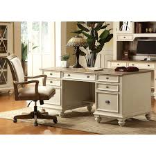 riverside belmeade executive desk riverside 32535 coventry two tone executive desk homeclick com