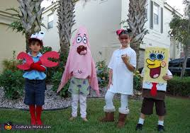 Spongebob Squarepants Halloween Costumes Crew Costumes