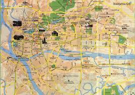 Map Of Jakarta Tourist Map Of Guangzhou Maps Of Guangzhou