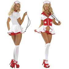 best quality tempting women u0027s nurse costume zipper front skirted