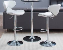 white leather swivel bar stools 35 stylish modern adjustable white leather bar stools