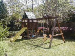 How To Build A Wooden Playset How To Build Endeavor Diy Wood Fort Swing Set Plans Jack U0027s