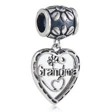 s day charms dangle 925 sterling silver heart charms s day gift
