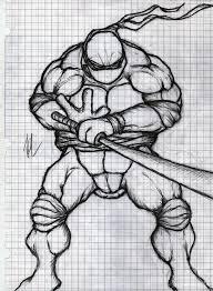 teenage mutant ninja turtles leonardo drawing by richlim89 on