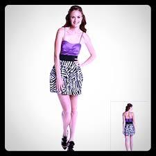 64 off ruby rox dresses u0026 skirts ruby rox purple and zebra