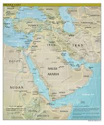 Ancient Middle East Map by Large Detailed Relief And Political Map Of Middle East With All