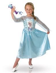 Elsa Costume Classic Frozen Elsa Costume With Microphone Vegaoo