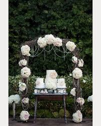 wedding arch used 20 inspiring wedding cake display tables wedding cake display