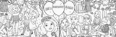 bonggamom finds american magazine special birthday coloring page