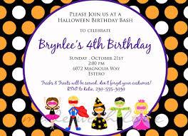 Halloween Invitation Poems Birthday Party Invitation Wording Iidaemilia Com