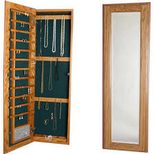 tall recessed storage cabinet jewelry solutions large wood