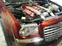 Dodge Viper Engine - this v10 viper powered chrysler 300c drifter is certifiably nuts