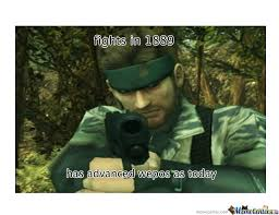 Metal Gear Solid Meme - metal gear solid logic by rashirj1 meme center