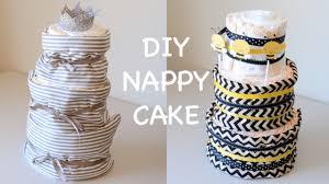 how to make diaper cake diy easy nappy cake tutorial ali
