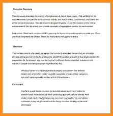 Executive Summary Example For Resume by Summary For Resume Sample Executive Summaryexecutive Summary