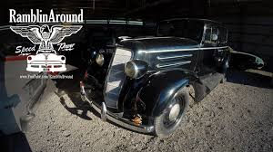 Country Classic Cars - this 1934 oldsmobile sedan is an all original survivor classic car