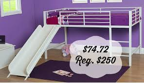 Kmart  Slumber N Slide Loft Twin Bed WSlide  Value - Essential home bunk bed