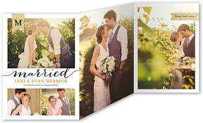 wedding invitations shutterfly sparkling union 5x7 tri fold stationery card by vanilla print