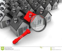 searching for home stock illustration image of many house 8131364
