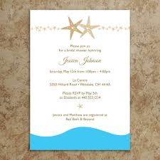 despedida invitation starfish bridal shower invitations kawaiitheo com