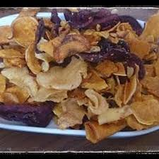Roots Vegetable Crisps - root vegetable crisps picture of didsbury lounge manchester