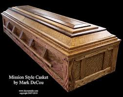 how to make a coffin coffin etsy