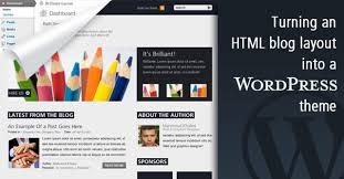 how to convert a html template into a wordpress theme