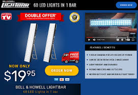 bell howell light bar review 60 led lights in one bar freakin