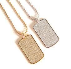 gold dog pendant necklace images 2017 new fashion hip hop jewelry men 39 s iced out dog tag pendant jpg