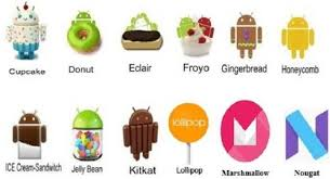 version of android android versions named after sweet