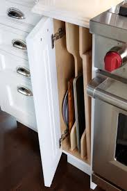 Kitchen Pan Storage Ideas by Best 25 Kitchen Cabinet Storage Ideas On Pinterest Cabinet