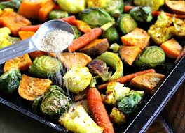 foodie friday honey curry roasted harvest veggies the fit