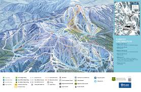 Bitterroot Mountains Map Bogus Basin Trail Map U2022 Piste Map U2022 Panoramic Mountain Map
