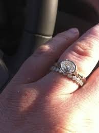 wedding band that will go with my east west oval e ring my east west oval bezel e ring page 2 pricescope forum