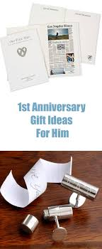 1st anniversary gift for him 1 year anniversary gift ideas for husbands