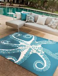 Beach Rug Bathroom Great Awesome Beachy Area Rugs Intended For Property
