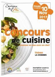 concours de cuisine saveurs de l ain lance 1er concours de cuisine synagri com