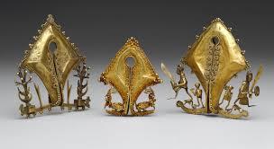 ear ornament or pendant mamuli work of heilbrunn