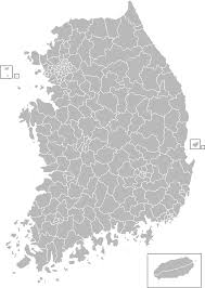 Map Of South Korea File Administrative Divisions Map Of South Korea Svg Wikimedia
