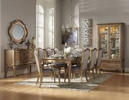 Formal Dining Room Furniture Sets Stately Chagne Gold Formal Dining Table Chairs Dining Room