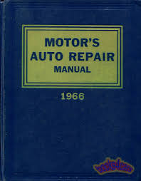 motors auto repair manual shop service book 1959 1966 ebay