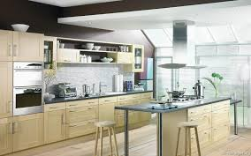 kitchen island fabulous one wall single wall kitchen design brown