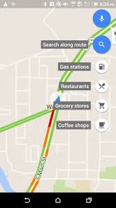 Map My Route Driving by Google Maps V9 26 1 Adds Search Along Route For Walking And