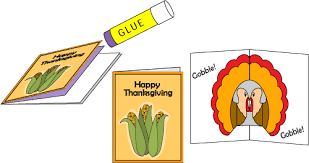 make a thanksgiving pop up card fall and thanksgiving crafts