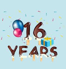 60 years birthday card 65 years happy birthday card royalty free vector image