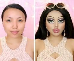 beauty vlogger transform bratz doll
